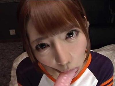 【主観】「あぁっ…イクっ…♡」ぱっちり瞳が可愛い美少女の連続イキオナニーと主観フェラ!