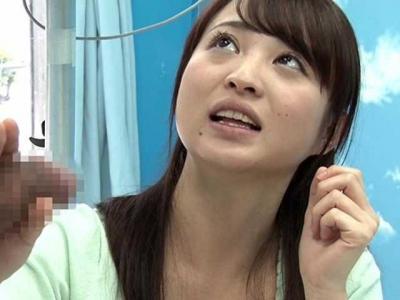 【MM号】女子アナ志望の女子大生!天然爽快娘にいやらしい言葉を読ませたり肉の棒をさわってもらったりしてみました☆