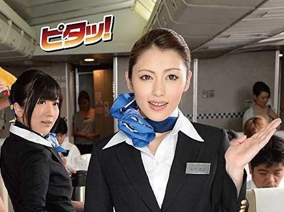 ◆時間停止◆高嶺の花的なお姉さんに大量ザーメンを機内サービス!ベロチュー!乳揉み!イラマチオ!立ちバックで肉棒挿入!
