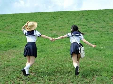【JK】乳牛の故郷でホルスタイン乳JKを揺らす!見渡す限りの大自然、地平線を見ながら爽やか青姦SEX!