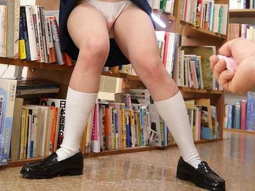 〖JK〗「ぁぁ!だめぇ!」制服貧乳少女がえび反り悶絶!声我慢で失禁お漏らししながら絶頂しちゃう!