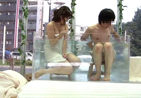 〖MM号〗「何か恥ずかしいね…♥」男友達と混浴温泉!素股で気分が盛り上がってそのままなし崩しSEXへww