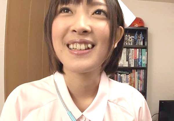 〖小倉ゆず〗ロリ顔ナースが素人宅を突撃訪問!しっとりサービスのご奉仕SEX!