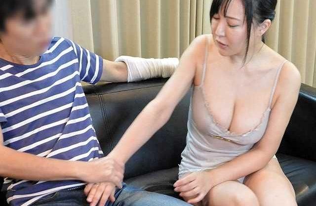 〖NTR〗ケガをさせられた男が脅迫!断れずに寝取られてしまう爆乳人妻!